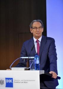 Prof. Dr. Mathias Müller, Präsident der IHK Frankfurt am Main