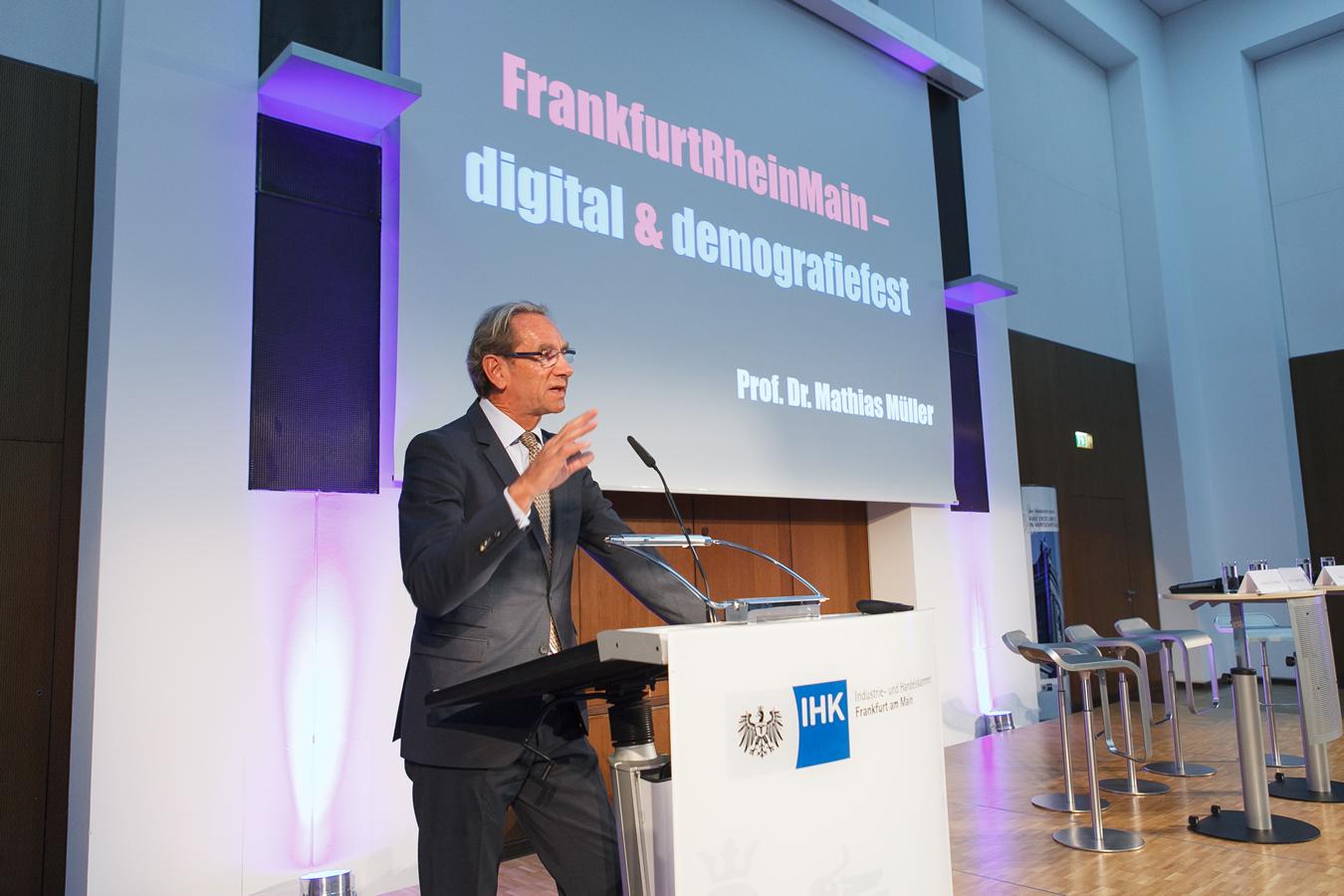 Prof. Mathias Müller, Präsident der IHK Frankfurt am Main