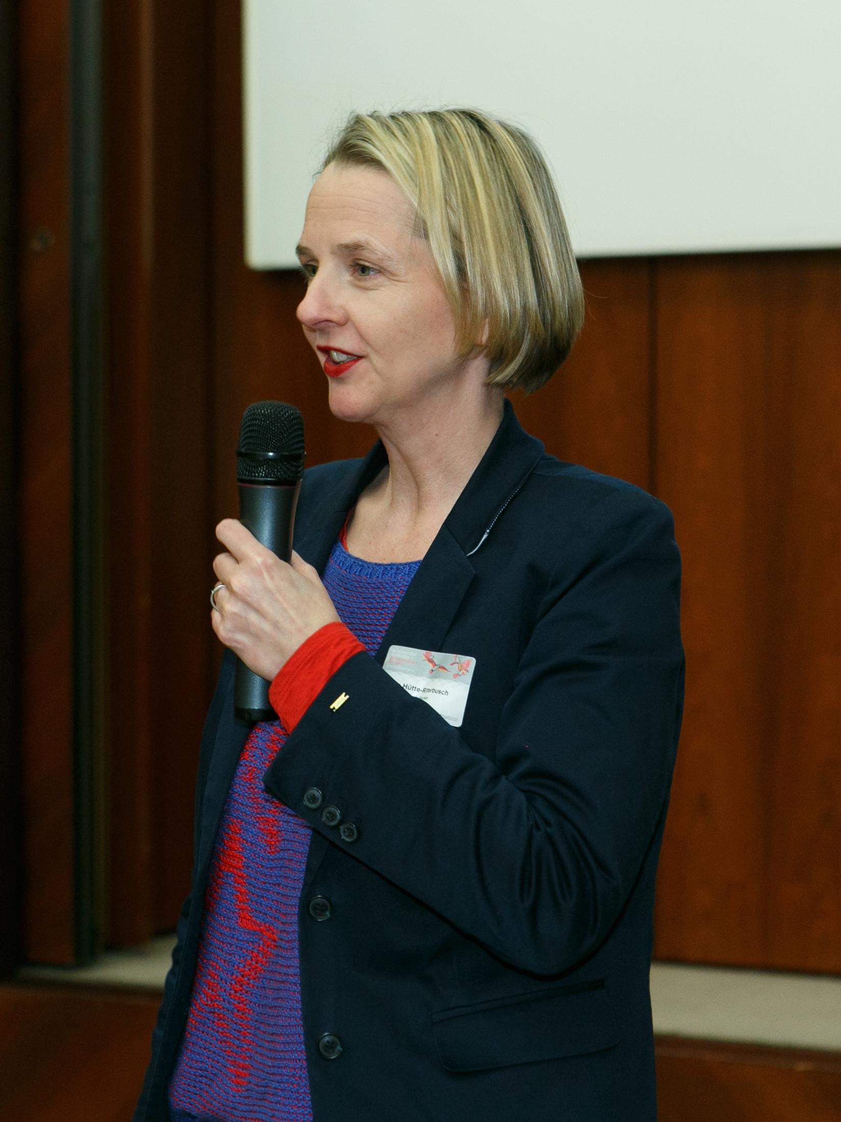 Forum 1 World Cafe mit Frau Sylvia Hütte-Ritterbusch